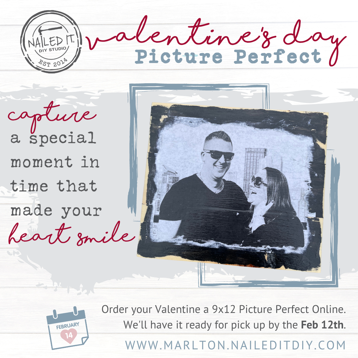 Valentine's Day Picture Perfect Made for You